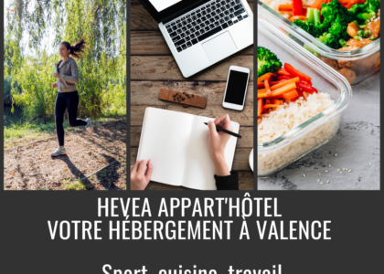 Hevea Appart'hotel, your 3-star residence in Valence for your professional stay